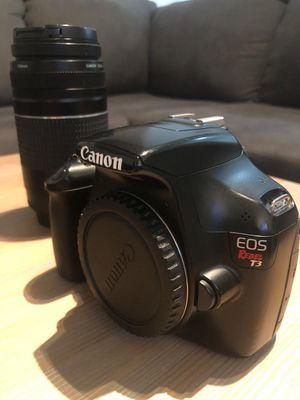 Canon EOS Rebel T3i / EOS 600D 18.0MP Digital SLR for Sale in Miami, FL