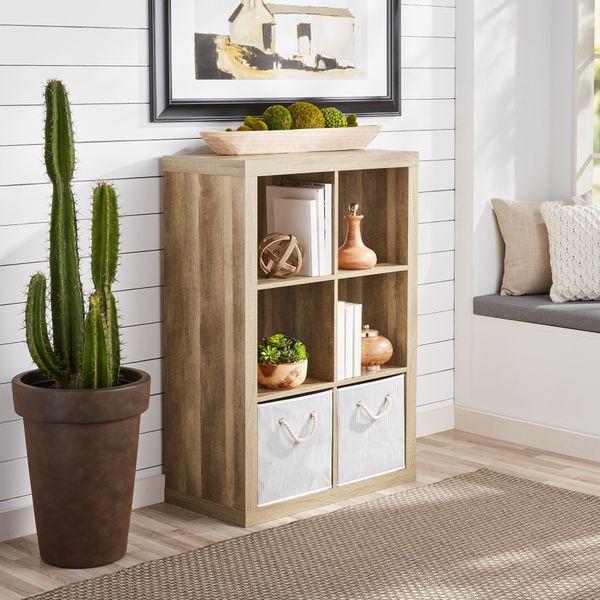 Better homes & gardens 6-cube storage organizer