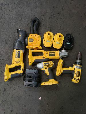Dewalt power tools for Sale in San Francisco, CA