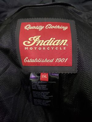 XXL indian motorcycle riding jacket for Sale in Bonney Lake, WA