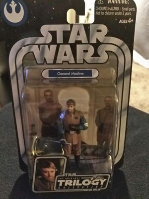 Star Wars Trilogy Collection General Madine. for Sale in Dallas, TX