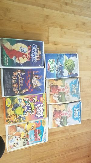 Misc. Vhs tapes lot for Sale in Greencastle, IN