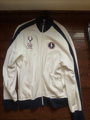 POLO RALPH LAUREN XL 2008 OLYMPICS BEIJING USA JACKET WHITE for Sale in Arlington, VA