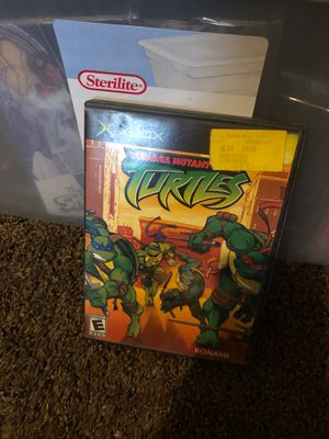 Teenage Mutant Ninja Turtles (Microsoft Xbox, 2003) Konami No manual book for Sale in Fresno, CA