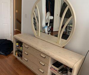 Mirror and Dresser for Sale in Fairfax, VA