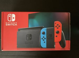 NEW Nintendo Switch 32GB Console with Neon Red and Neon Blue Joy-Con HAC001-01 for Sale in Seattle, WA