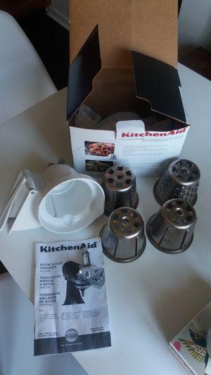 Kitchen Aid Slicer Shredder Attachment for Sale in Alexandria, VA