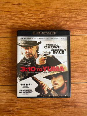 3:10 to Yuma 4K UHD + Blu-Ray for Sale in Los Angeles, CA