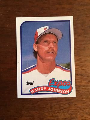Randy Johnson 1989 Topps Baseball Card for Sale in Wichita, KS