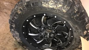 "Patriot tires , Rims -Fuel Clevers 35"" for Sale in Ocean Springs, MS"