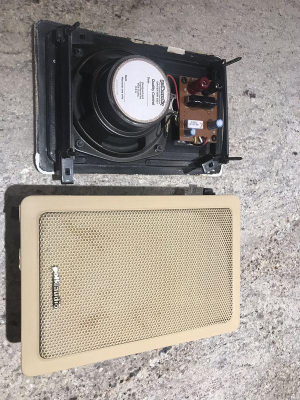 Polk audio in wall speakers