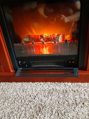 Fireplace/tv stand for Sale in Obetz, OH