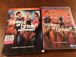 Make it or Break It 2 season DVD set for Sale in Amarillo, TX