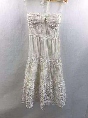 Catherine Malandrino Vintage dress size 4/6 wedding side zipper embroidery for Sale in Huntington Beach, CA