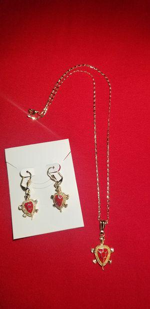 RED TURTLE DESIGN (4 PIECE SET) for Sale in McAllen, TX