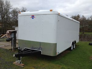 8.5 X 20 Interstate Car Carrier Trailer Enclosed for Sale in Antioch, CA