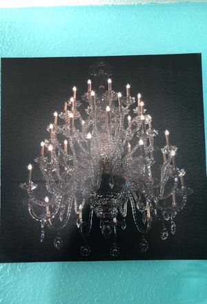 Chandelier wall pictures for Sale in Modesto, CA