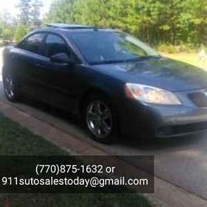 Pontiac G6 GT.. Nice Car with Sunroof and Leather! for Sale for sale  Decatur, GA