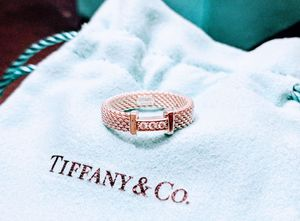 Tiffany & Co. Sterling Silver Somerset Narrow Diamond Ring Sz 5 NEW for Sale in Vienna, VA