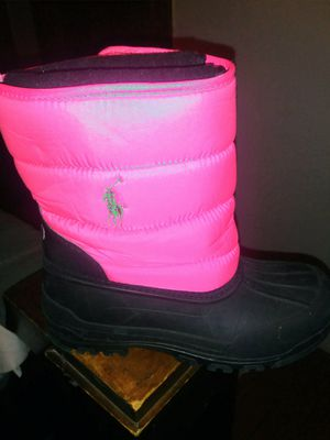 GIRLS POLO boots sz 4# gently used for Sale in Philadelphia, PA
