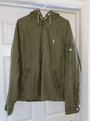 Polo Ralph Lauren Olive Jacket size XL for Sale in Manassas, VA