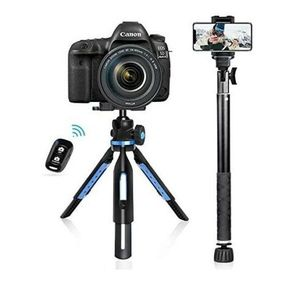 UBeesize Tripod Monopod Combo Extendable Tabletop Stand Selfie Stick for Sale in South Gate, CA