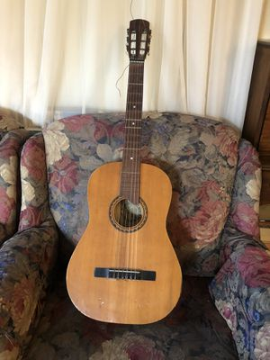 """Vintage acoustic classical flamenco guitar """"Handarbeit aus mittenwald"""" ... this guitar is in tact but has signs of age use and imperfections such as for Sale in Glendale, CA"""