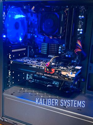Custom Gaming Computer with AMD FX8320 3.5GHz, 970 GTX, 128GB SSD/1TB HDD for Sale in Lauderhill, FL