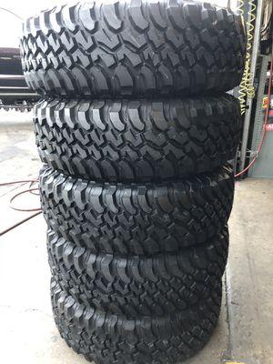 5 tires !!! 255/75R17 BFGoodRich $700 for 5! for Sale in Norwalk, CA