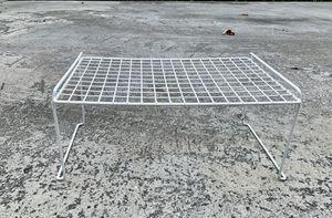 White grid Stackable Shelf for Sale in Miami, FL