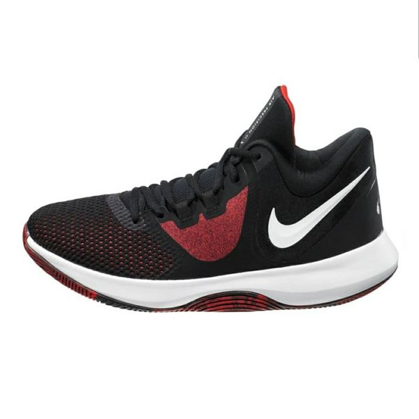 Nike Men's Precision II Basketball Shoes Black/Red Size 9.5