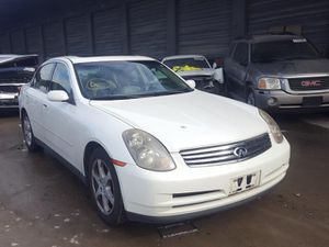 2003 Infiniti g35 parting out for Sale in Rancho Cordova, CA