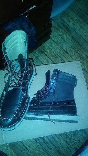 Sperry boots by nautica, worn 3 times if that size 11.5 for Sale in Washington, DC