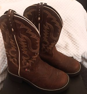 Justin Gypsy Women's Inji aged bark Cowgirl boots for Sale in Seattle, WA