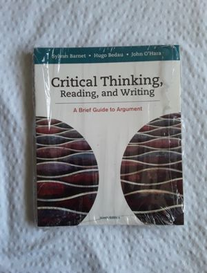 Critical thinking reading and writing for Sale in San Bernardino, CA