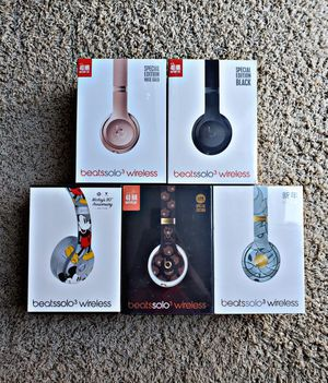 Beats Solo³ Wireless Headphones (ALL COLORS AVAILABLE) for Sale in Atlanta, GA