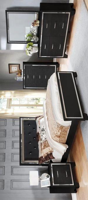 NEW🍀Bianca Black Queen/King Bedroom Set | B592 byGlobal for Sale in Jessup, MD