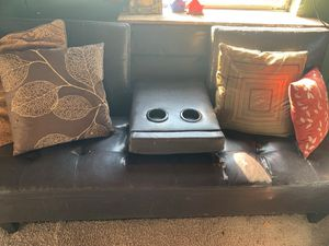 Leather Futon for Sale in Powhatan, VA