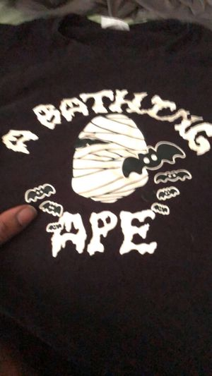 ‭ Glow in the dark Halloween Bape shirt size:XL for Sale in Spring Hill, TN