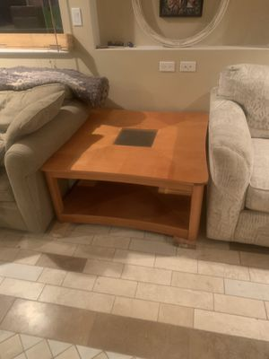 2 Coffee tables big 40x40x18 small 26x26x24 for Sale in Des Plaines, IL
