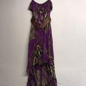 1 Purple/ Leopard Dress Size Small for Sale in Riverdale, GA