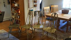 Antique oak dinning chairs for Sale in Allentown, PA