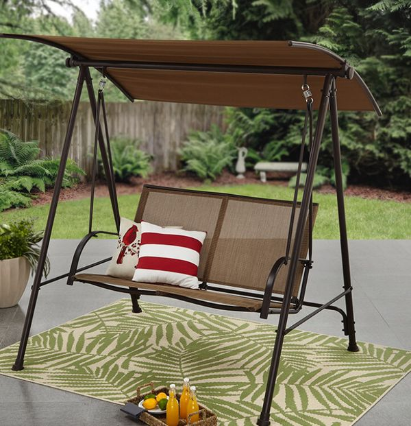 New!! 2 Person Canopy,Swing,Outdoor Swing,Backyard Canopy,Porch Canopy Swing,
