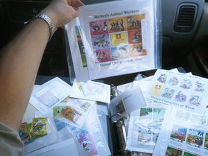 Large disney stamp collection for Sale in Rossville, GA