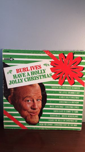 Burl Ives Have A Holly Jolly Christmas Vinyl Record LP for Sale in Cincinnati, OH
