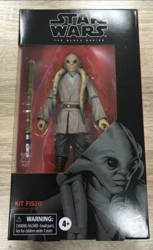 Star Wars Black Series Kit Fisto Collectible Action Figure Toy for Sale in Chicago, IL