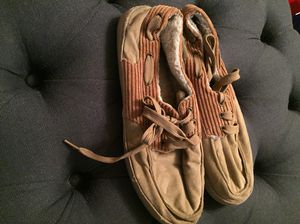 Men's Levi's lounge shoes size 11-12 for Sale in Los Angeles, CA