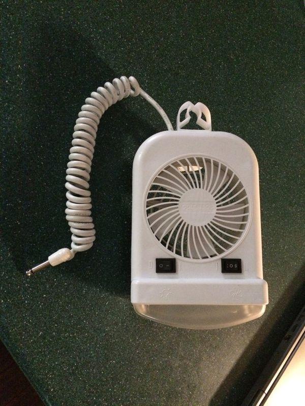 Camper fan light 12 volts