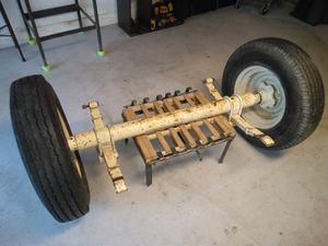 Heavy duty trailer axle for Sale in Naples, FL