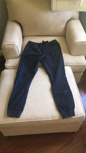 Men's Navy Blue Cotton Corduroy Pants for Sale in Montclair, CA